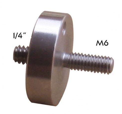 Geoptik M6 Counterweight Shaft Adaptor to 1/4'' Thread For Cameras