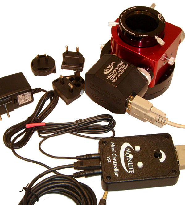 moonlite high resolution stepper motor kit with mini