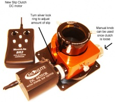 Moonlite DC Motor With Slip Clutch & Controller