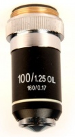 Zenith OM-100 x100R Oil DIN Objective For Ultra 400LA