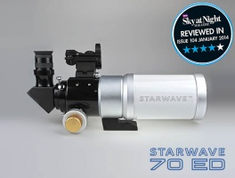 Altair Starwave 70 ED F6 Travel Refractor Telescope With Dual Speed Crayford