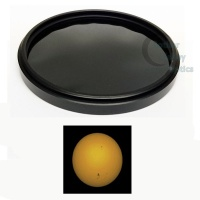 Thousand Oaks Threaded Black Polymer Solar Filter For Camera Lenses