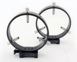 ADM Vixen Style Guidescope Rings