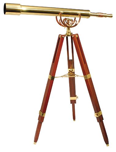 Helios Fine Brass 8040 28 x 80 Telescope With Tripod