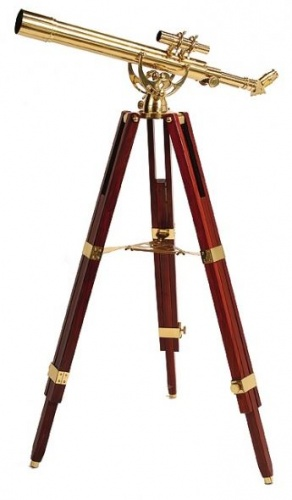 Helios Fine Brass 60700 28 x 60 Telescope With Finderscope & Tripod