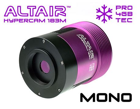 Altair Hypercam 183M Mono Pro Tec Cooled 20mp Astronomy Imaging Camera