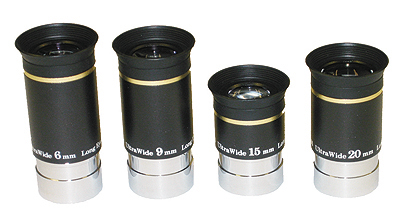 Skywatcher Ultrawide Eyepieces 1.25''