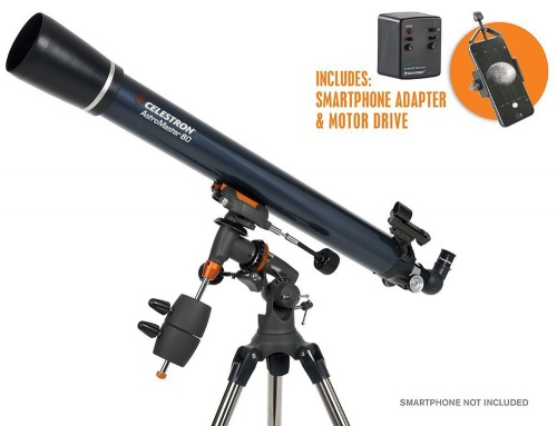 Celestron AstroMaster 80 ED MD With Smartphone Adaptor & Motor Drive