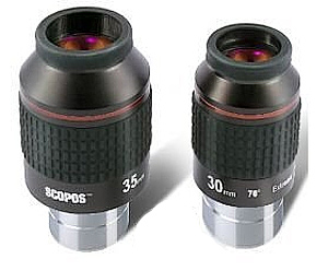 Baader SCOPOS Extreme Widefield Eyepieces 2''