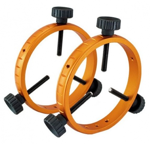 Geoptik 130mm Guidescope Ring Set