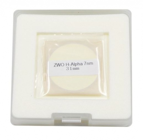 ZWO 31mm H-Alpha 7nm Narrowband Unmounted Filter