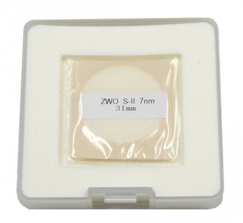 ZWO 31mm SII 7nm Narrowband Unmounted Filter