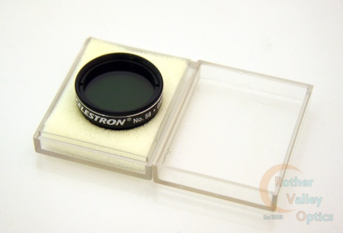 Second Hand Celestron No. 58 Green Filter