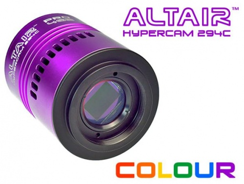 Altair Hypercam 294C Pro Cooled 11.6mp Colour Astronomy Imaging Camera