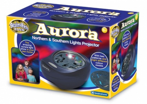 Brainstorm Aurora Northern & Southern Lights Projector