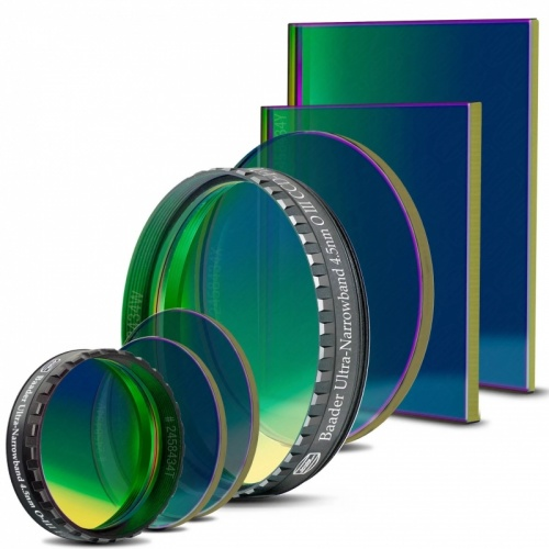 Baader Ultra Narrowband OIII 4.5nm CCD Filters