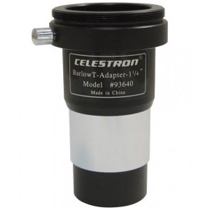 Celestron x2 Barlow Lens With T Adaptor 1.25''