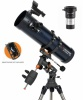Celestron AstroMaster 130 EQ Newtonian With Smartphone Holder & Barlow