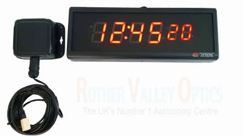 BRG Precision 6 Digit 2.5'' Sidereal Clock With GPS Receiver