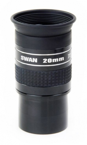 William Optics 20mm SWAN Super Wide Angle 72° 1.25'' Eyepiece