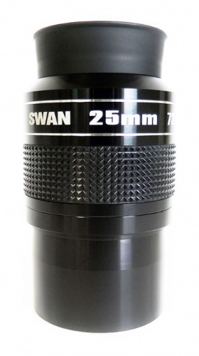 William Optics 25mm SWAN Super Wide Angle 72° 2'' Eyepiece