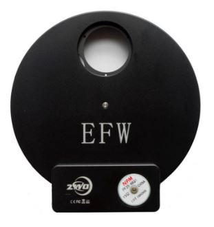 ZWO EFW Electronic Filter Wheel For 36mm Unmounted Filters