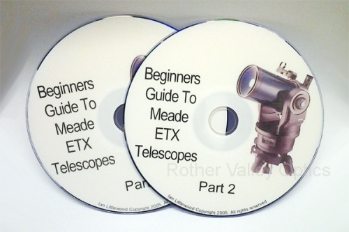 RVO Beginners Guide To Meade ETX Telescopes Double DVD