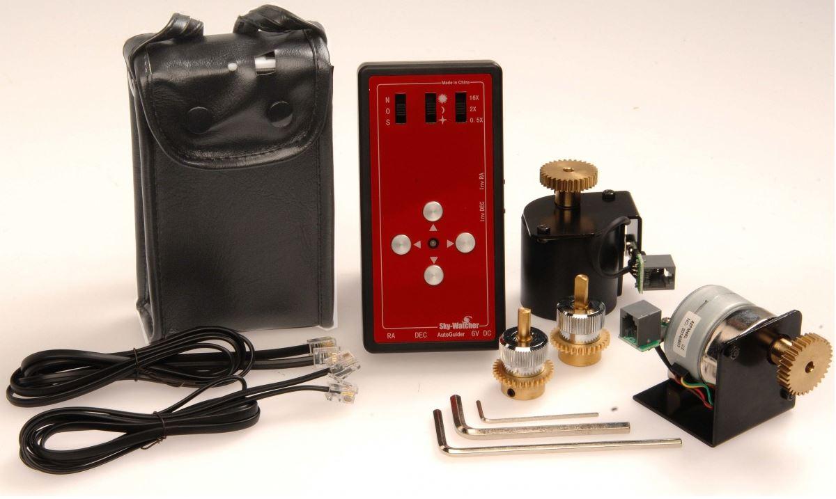 Skywatcher Eq5 Enhanced Dual Axis Motor Drives Rother Valley Hyperstart Battery Isolator Wiring