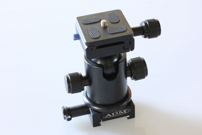0267a324084 ADM Mini Dovetail System Ball Head Camera Mount - Rother Valley ...