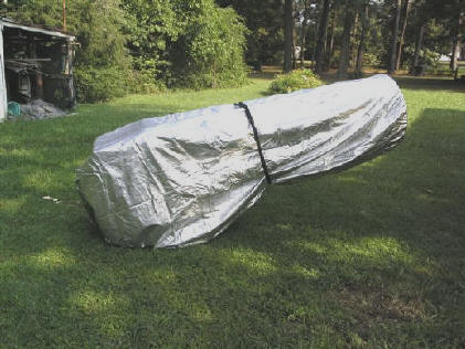 TeleGizmos Large Truss Dob Covers For 75 - 90° Down Horizontal Position