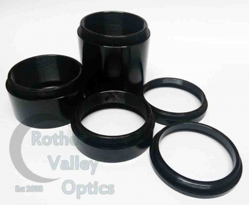 Rother Valley Optics T2 Extension Tubes - Various Sizes