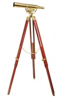 Helios Fine Brass 2060 20 - 60 x 60 Telescope With Tripod