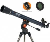 Celestron AstroMaster 70 AZ Refractor With Smartphone Holder & Moon Filter