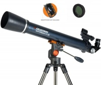Celestron AstroMaster LT 60 AZ Refractor With Smartphone Holder & Moon Filter