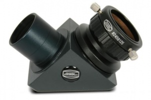 Baader Prism Diagonal T-2 90° With Focusing Eyepiece Holder and 1.25'' Nosepiece