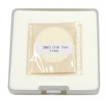 ZWO 31mm OIII 7nm Narrowband Unmounted Filter