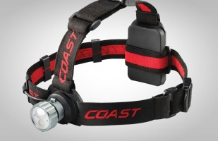Coast HL45 Red/White Headtorch 400 Lumens