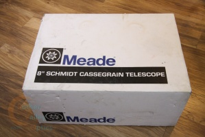 Second Hand Box and Laser Cut Foam for Meade LX200 8''