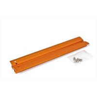 Baader Vixen Dovetail Bar Orange Anodised Drilled for Celestron 8'' SCT Optical Tubes