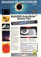 Baader AstroSolar A4 ND5.0 Safety Film Sheet