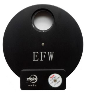 ZWO EFW 8 Position Electronic Filter Wheel For 1.25'' Mounted Or 31mm Unmounted Filters